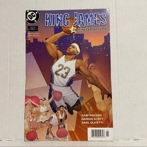 Lebron James Comic Book